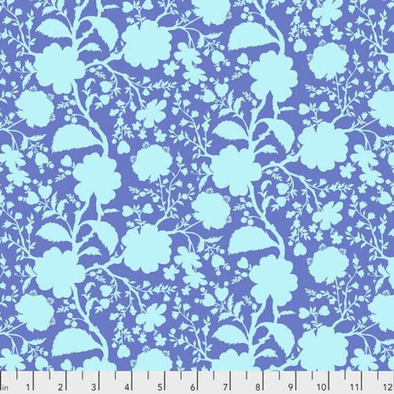 Fat Quarter Wildflower in Delphinium - Tula Pink's True Colors for Free Spirit Fabrics