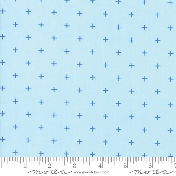 Breeze -- Pluses in Sky (1696 13) by Zen Chic for Moda -- Fat Quarter