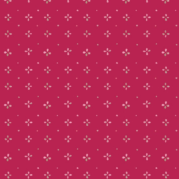 Aquarelle by Katarina Rocella for Art Gallery Fabrics - Watermarks in Cerise