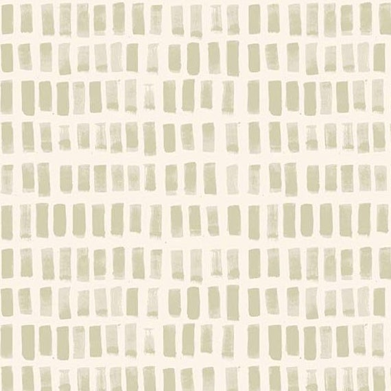 Home by Sarah Golden for Andover Fabrics - Fat Quarter of Brush Strokes in Ivory -- Cotton