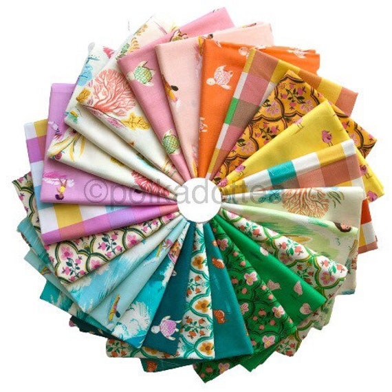 Heather Ross Malibu Collection for Windham Fabrics - Fat Quarter Bundle of All 24 Prints