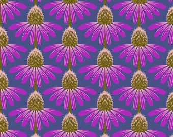 Love Always by Anna Maria Horner Fabrics for Free Spirit Fabrics - Fat quarter of Echinacea in Haute