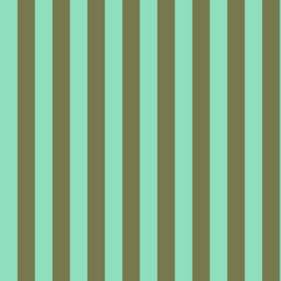 Fat Quarter Tent Stripe in Agave  - Tula Pink's All Stars Fabric for Free Spirit Fabrics
