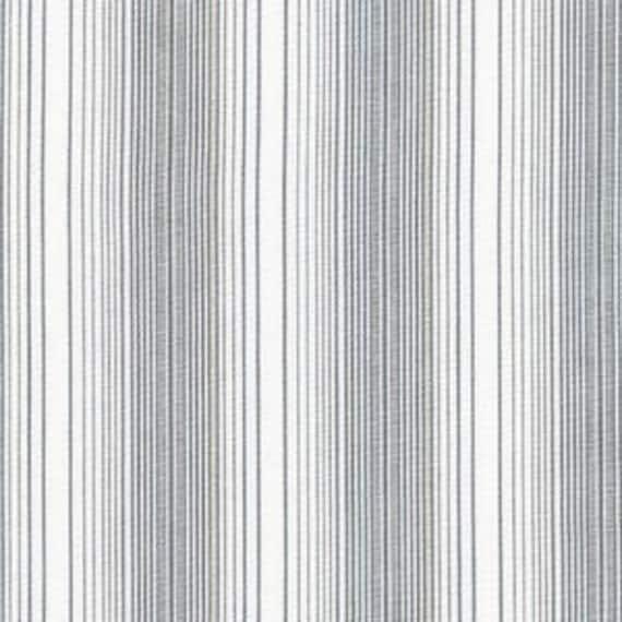 Jennifer Sampou -- Shimmer On Yarn Dyed- Fat Quarter of Multi Striped in Shadow Metallic