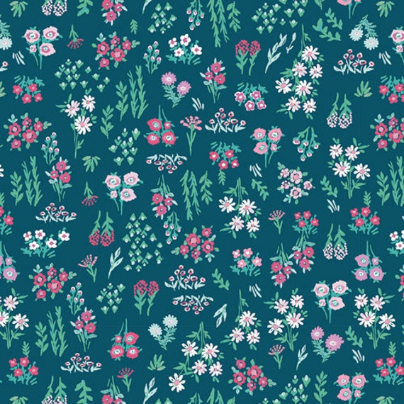 Aquarelle by Katarina Rocella for Art Gallery Fabrics - Floral Pigments in Dry
