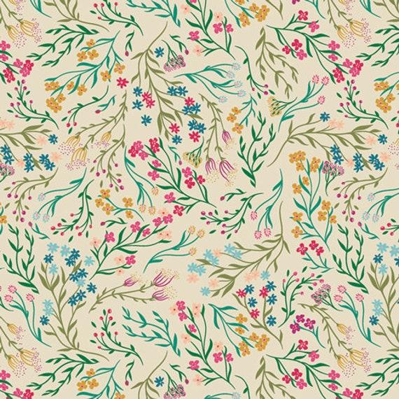 The Flower Society for Art Gallery Fabrics - Windswept Illuminated - Fat Quarter