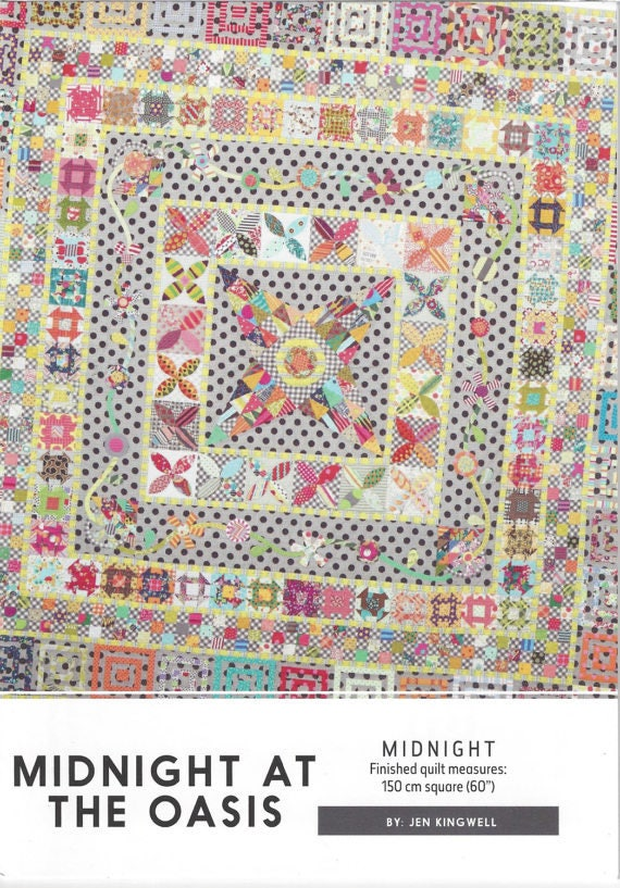 Midnight at the Oasis - Pattern by Jen Kingwell