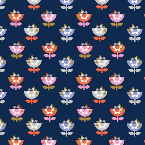 Dashwood Studio Amelie (AMEL1427)  - Cotton Fabric - Fat Quarter
