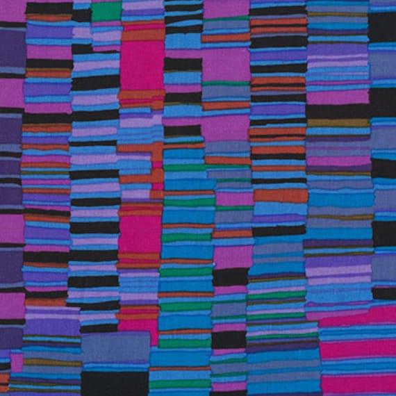 Kaffe Fassett Collective  -- Fat Quarter of Shirt Stripes in Cobalt