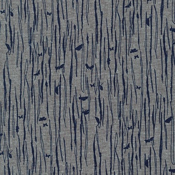 Driftless by Anna Graham for Robert Kaufman, 100% Cotton Linen Canvas -- 25cm -- AFH 190-14335