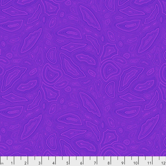 Fat Quarter Mineral in Amethyst - Tula Pink's True Colors for Free Spirit Fabrics
