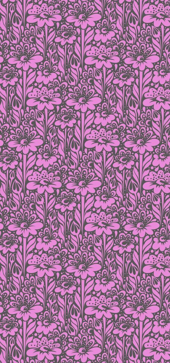 Fat Quarter Daisy Buds in Wisteria - Tula Pink's True Colors 2015 for Free Spirit Fabrics
