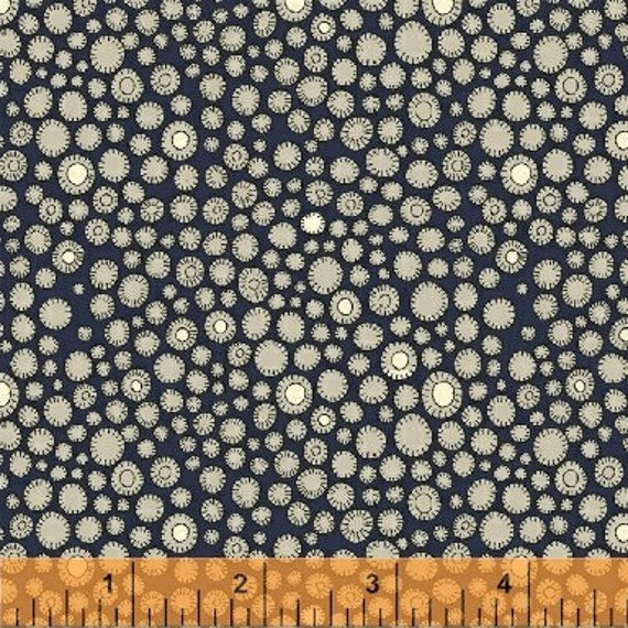 Fantasy by Sally Kelly for Windham Fabrics - Fat Quarter of 51291-1