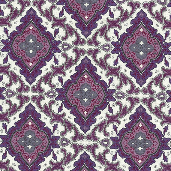 New Outback Wife by Gertrude Made for Ella Blue -- 1/2 metre Aggie in Violet