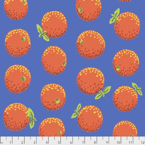 Kaffe Fassett Collective February 2020 -- Fat Quarter of Kaffe Fassett Oranges in Orange