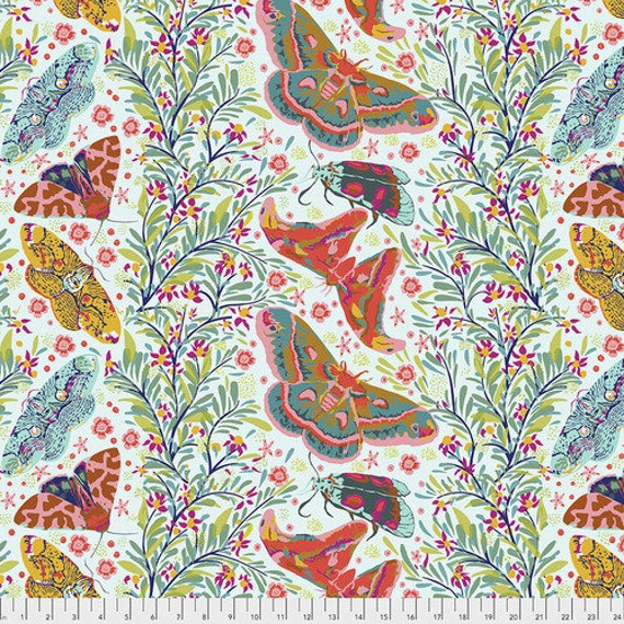 Hindsight by Anna Maria Horner for Free Spirit Fabrics- Fat Quarter of Sinister Gathering in Spring