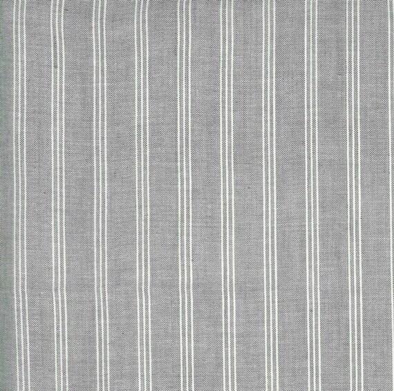Moda Low Volume Wovens Wide Silver Stripe by Jen Kingwell -- Fat Quarter