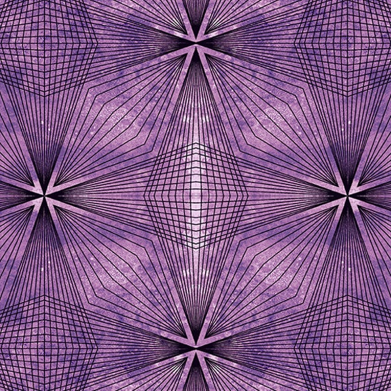 Prism by Guicy Guice for Andover Fabrics - Fat Quarter of Prism in Amethyst