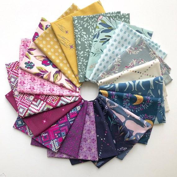 Fat Quarter Bundle of 20 Art Gallery Fabrics -- Mystical Land by Maureen Cracknell