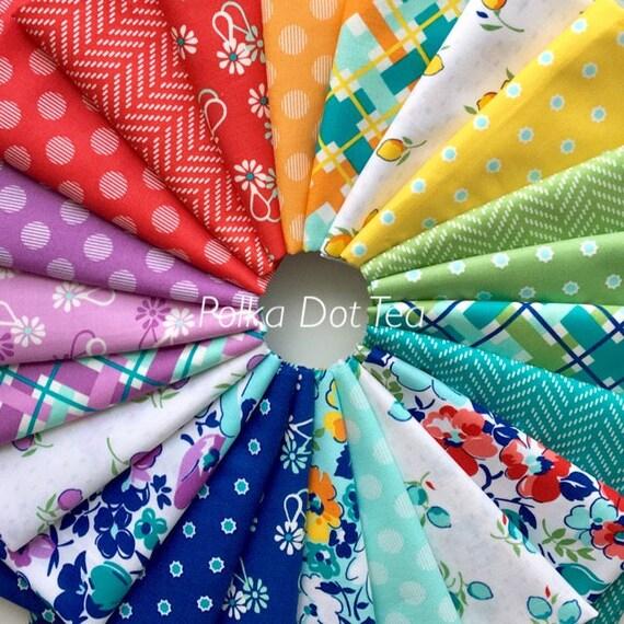 Hello Jane by Allison Harris for Windham Fabrics - Fat Quarter Bundle of 22 fabrics