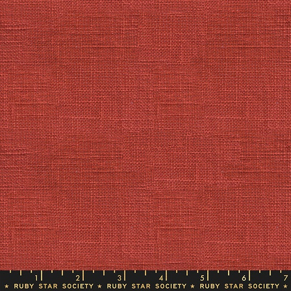 Warp Weft Wovens Persimmon RS400813 Ruby Star Society Alexia Marcelle Abegg