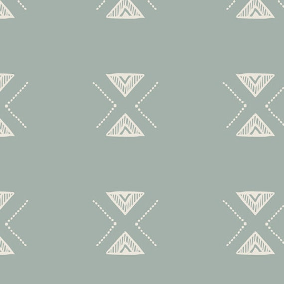 Serenity Fusion by Art Gallery Studio-  Fat Quarter of Triangle Serenity