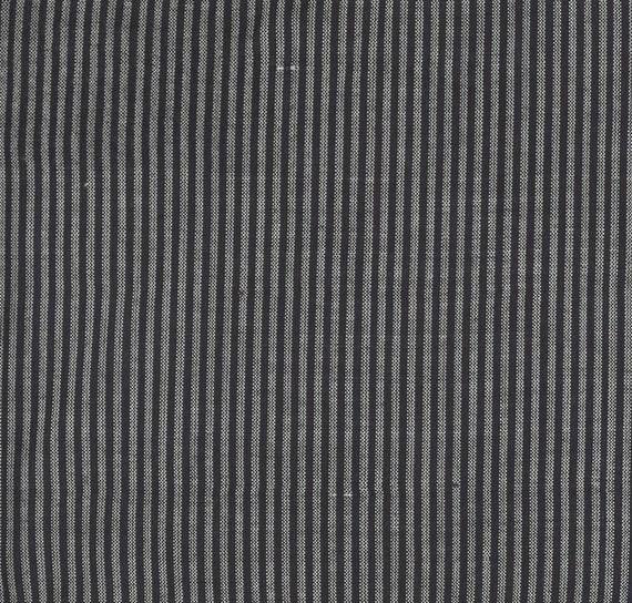 Moda Low Volume Wovens Charcoal Stripe by Jen Kingwell -- Fat Quarter