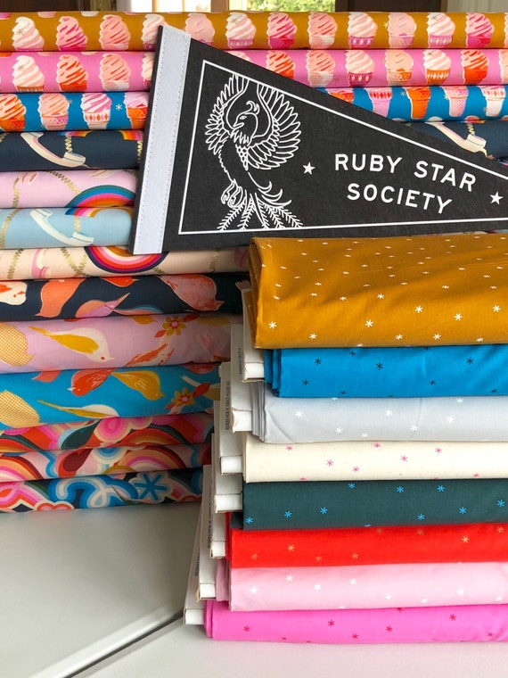Social and Spark -- Complete Fat Quarter bundle by Melody Miller for Ruby Star Society for Moda -- 23 in Total