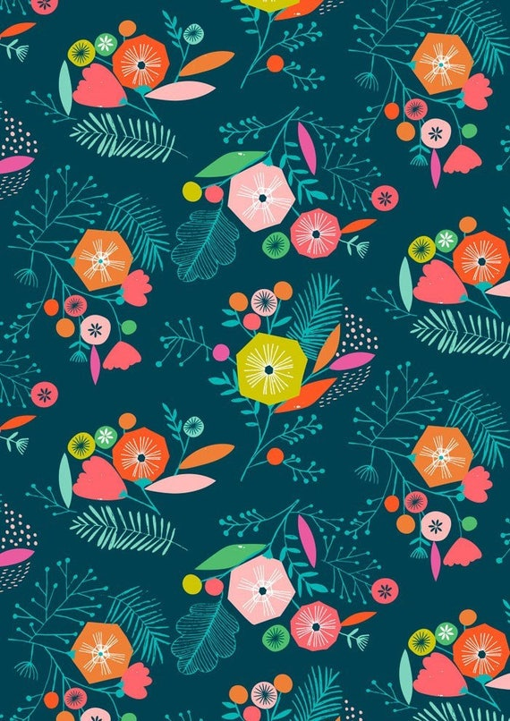 Flock by Bethan Janine for Dashwood Studio - Floral Multi