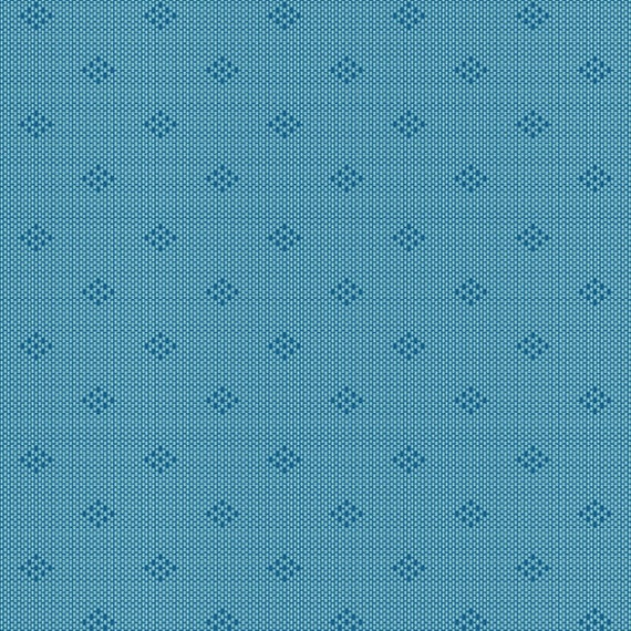 Entwine by Guicy Guice for Andover Fabrics - Fat Quarter of Intersect in Ocean