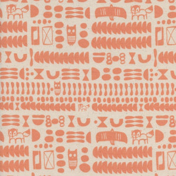 Flower Shop by Alexia Marcelle Abegg for Cotton and Steel - Fat Quarter- Charms in Peach