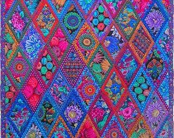 Kaffe Fassett Midnight Diamonds Fabric Pack from Quilts in Burano