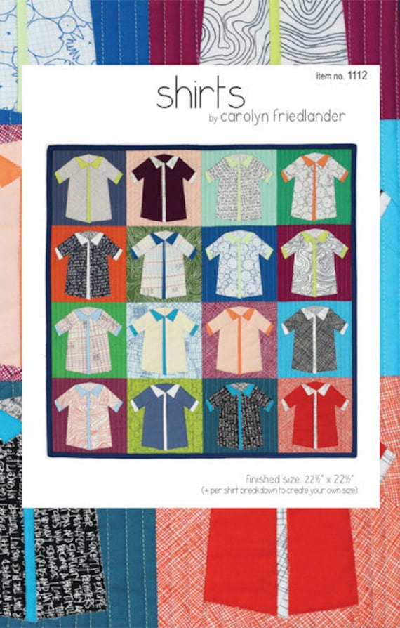 Shirts Quilt - Pattern by Carolyn Friedlander