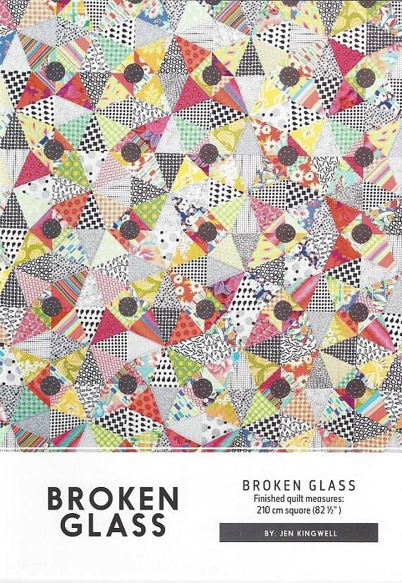 Broken Glass - Pattern by Jen Kingwell