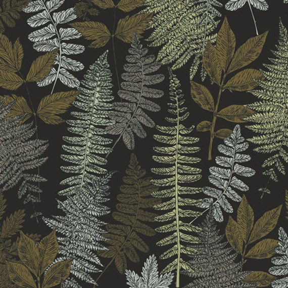 Her and History by Bonnie Christine -  Fat Quarter of Evelyn's Green Thumb