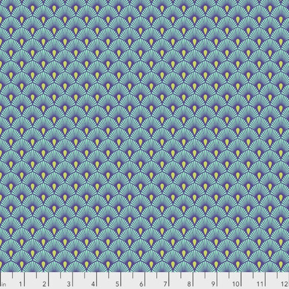 Fat Quarter Serenity in Daydream - Tula Pink's Pinkerville for Free Spirit Fabrics