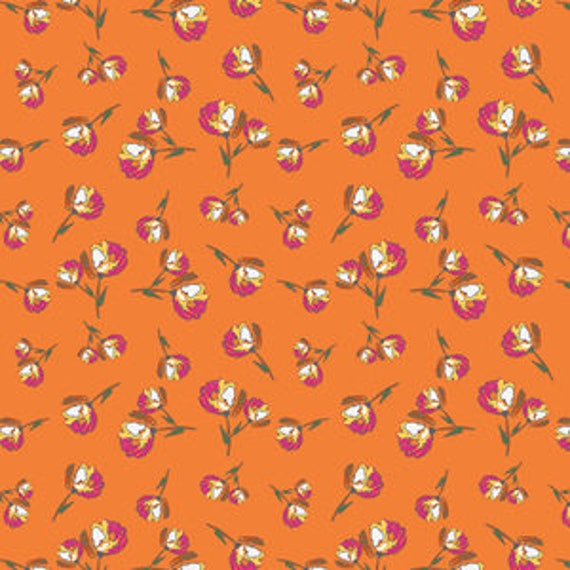Wild Bloom by Bari J. Ackerman for Art Gallery Fabrics - Lively Rosebuds in Burst - Fat Quarter