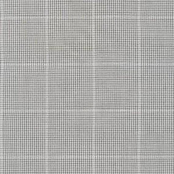 Jennifer Sampou -- Shimmer On Yarn Dyed- Fat Quarter of Grid in Grey Metallic