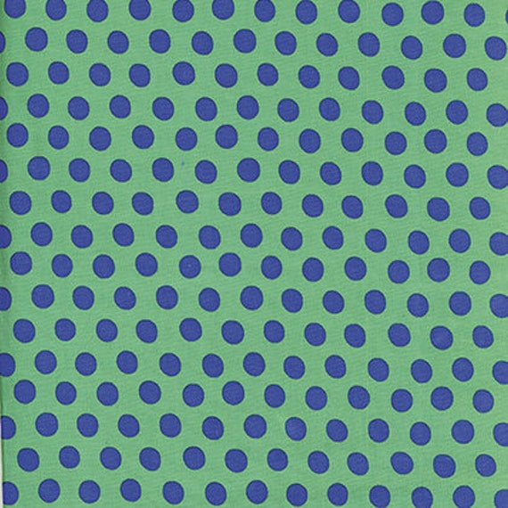 Kaffe Fassett -- Fat Quarter of Spots in Green
