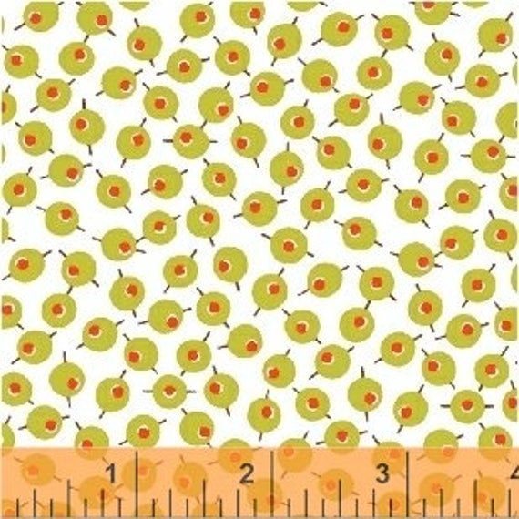 Martini by Another Point of View for Windham Fabrics - (42448-7) - Fat Quarter