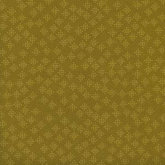 Lagoon -- Speckles in Mustard by Rashida Coleman Hale for Cotton and Steel