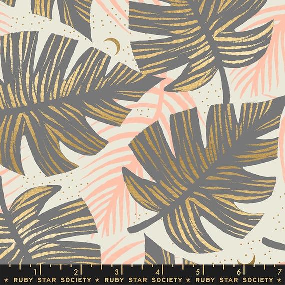 Florida Shade Palms in Grey RS2024 13M by Sarah Watts -Ruby Star Society - Fat Quarter
