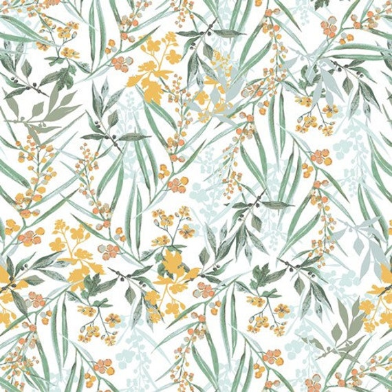 Picturesque by Katarina Rocella for Art Gallery Studio-  Fat Quarter of Lush Mimosa