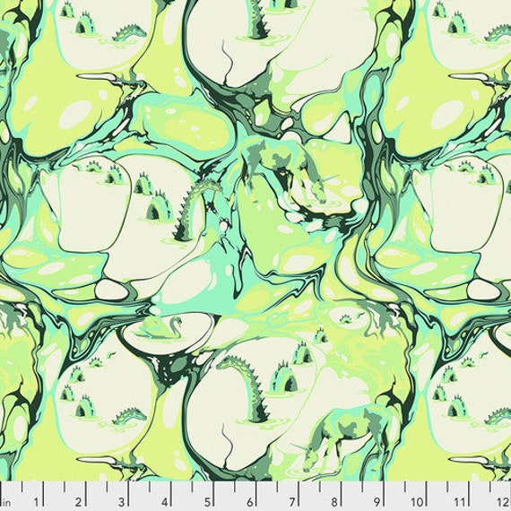Fat Quarter Blind Faith in Frolic  - Tula Pink's Pinkerville for Free Spirit Fabrics