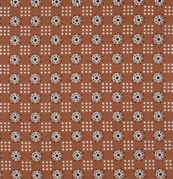 Katie Jump Rope by Denyse Schmidt for Free Spirit Fabrics -   Atomic Dot in Nugget View Fabric