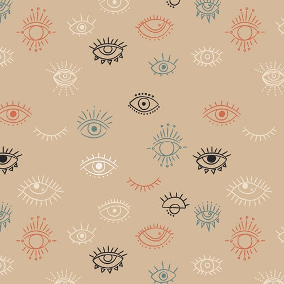 Luna & Laurel by AGF Studio for Art Gallery Studio-  Fat Quarter of Eye See You Day