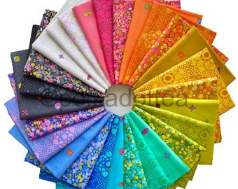 In stock! Sun Print 2021 by Alison Glass -- Fat Quarter Bundle of all 27 Prints
