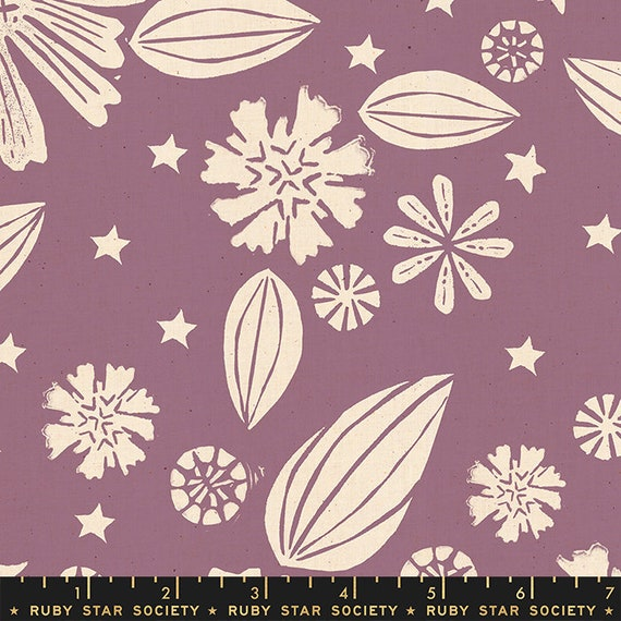 Golden Hour -- Zinnia in Lilac (RS4016-21) by Ruby Star Society for Moda -- Fat Quarter