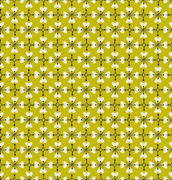 Smol Coeur De Fleur Pistachio RS3018 15 by Kimberly Kight -Ruby Star Society - Fat Quarter