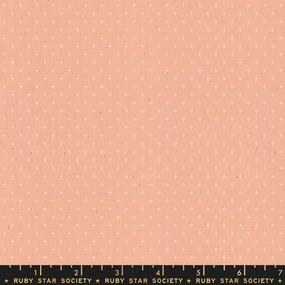 Add It Up and Alma by Alexia Marcelle Abegg -- Ruby Star Society Fabric, RS4005-31 Fat Quarter of Add It Up Peach